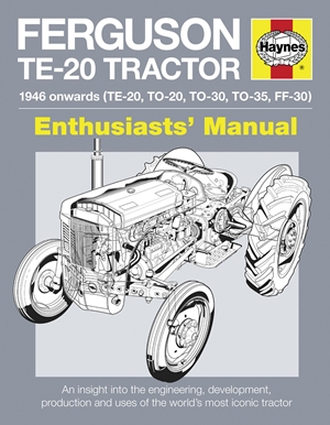 Ferguson TE-20 Tractor - 1946 onwards (TE-20, TO-20, TO-30, TO-35, FF-30)