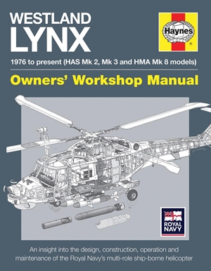 Westland Lynx 1976 to present (HAS Mk 2, Mk 3 and HMA Mk 8 models)