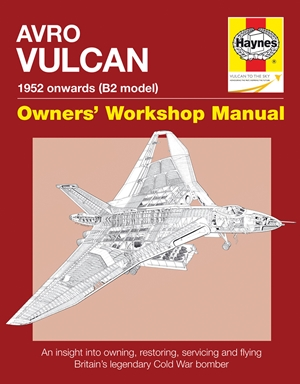 AVRO VULCAN Manual 1952 onwards (B2 model)