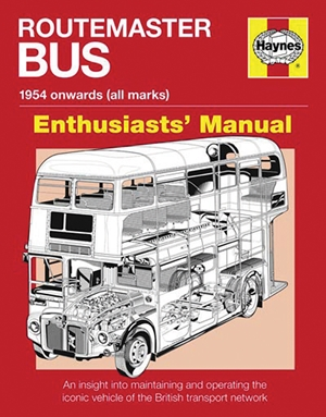 Routemaster Bus Manual - 1954 onwards (all marks)