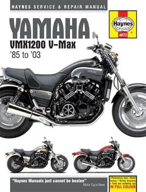 Yamaha VMX1200 V-Max '85 to '03