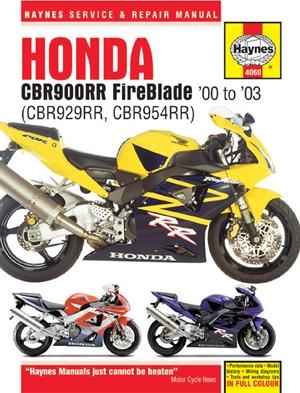 Honda CBR900RR FireBlade '00 - '03