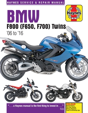BMW F800 (F650, F700) Twins