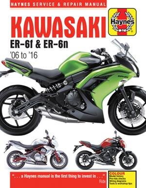 Kawasaki EX650 & ER650, '06-'16