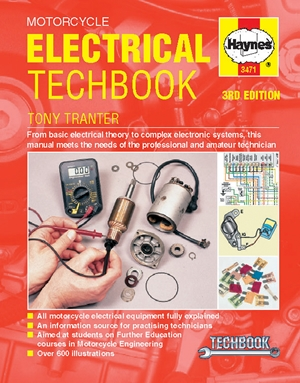 Motorcycle Electrical Manual, 3rd Edition Techbook