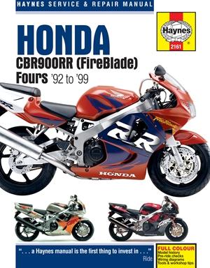 Honda CBR900RR (FireBlade) Fours '92 to '99