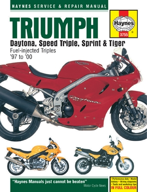 Triumph Daytona, Speed Triple, Sprint & Tiger