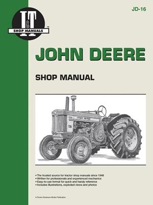 John Deere Shop Manual 520 530 620 630 720 +