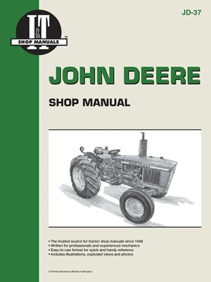 John Deere Shop Manual 1020 1520 1530 2020+