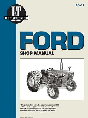 Ford Shop Manual Series 2000 3000 & 4000 < 1975