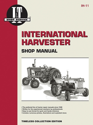 International Harvester Shop Manual Series Models 600 650