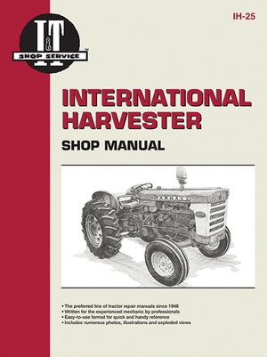 International Harvester Shop Manual Series 460 560 606 660 & 2606