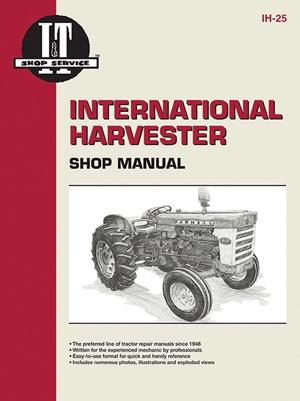 International Harvester Shop Manual Series 460 560 606 660 & 2606