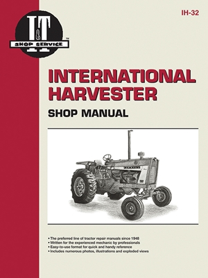 International Harvester Shop Manual Series 706 756 806 856 1206 +