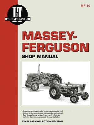 Massey Furgeson Shop Manual Models MF303 MFH303 MF404+