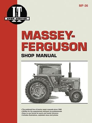 Massey Ferguson Shop Manual Model  MF285