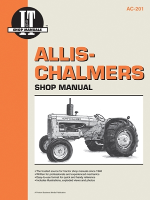 Allis-Chalmers Shop Manual AC20 AC17 AC25 & AC27