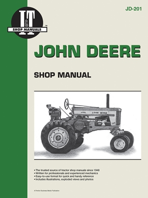 John Deere Shop Manual JD-201 (I & T Shop Service)