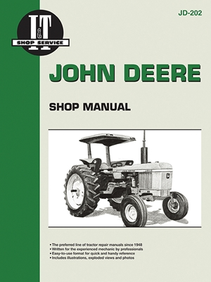 Tractor Manuals & Publications Discreet John Deere 3030 3130 Tractor Technical Repair Manual. Agriculture/farming