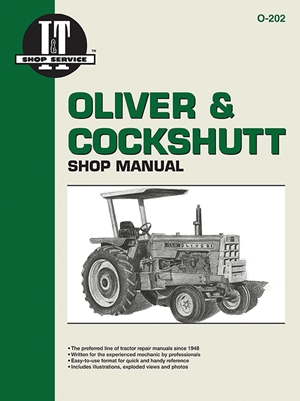 Oliver & Cockshutt Shop Manual O-202