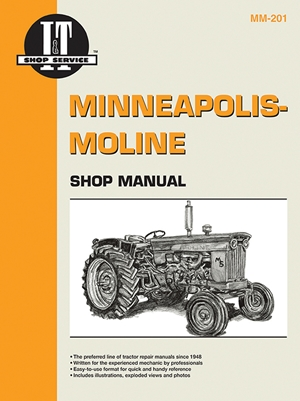 Minneapolis Moline Shop Manual