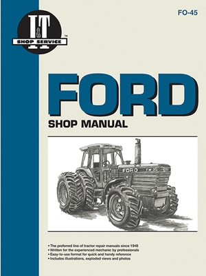Ford Shop Manual ModelsTW5 TW15 TW25 & TW35