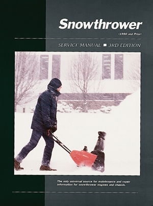 Snowthrower Service Ed 3