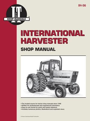 International Harvester Shop Manual Series 5088 5288 & 5488