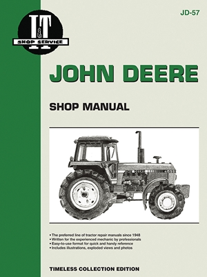John Deere Shop Manual 4050 4250 4450 4650+