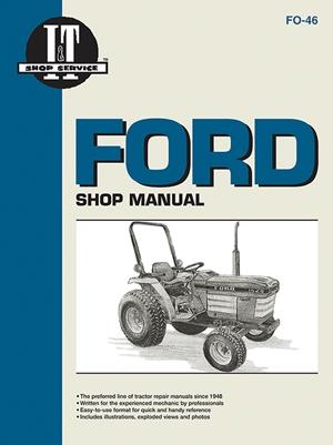 Ford Shop Manual Models 1120 1220 1320 1520+