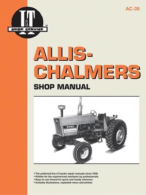 Allis-Chalmers Modelss 6060 6070 & 6080