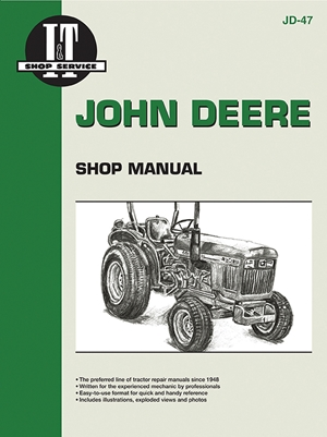 John Deere Shop Manual 850 950 & 1050