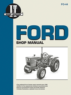 Ford Shop Manual Models1100 1110 1200 1210+