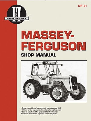 Massey Ferguson Shop Manual Models  MF670 MF690 & MF698