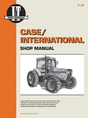 Case/International Shop Manual Models 7110 7120 7130 &7140