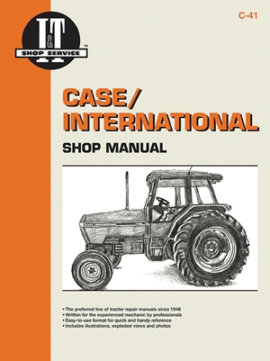 Case/International Shop Manual Models 5120 5130 & 5140