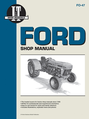Ford Shop Manual Models3230 3430 3930 4630+