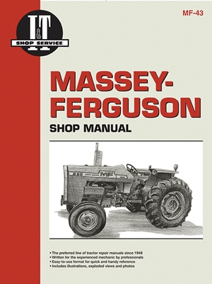 Massey Ferguson Shop Manual Models  MF255 MF265 MF270 +