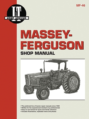 Massey Ferguson Shop Manual Models 340 350 355 360&399