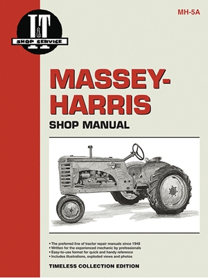 Massey Ferguson Shop Manual Model Colt Mustang 33 44 55 555