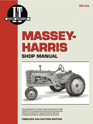 Massey Ferguson Shop Manual Model 16 Pacer