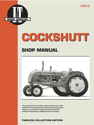 Cockshutt CS2, 20, 30, 40, 50 (I & T Shop Service Manuals)