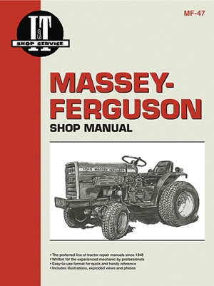 Massey Ferguson Shop Manual Models  1010 & 1020