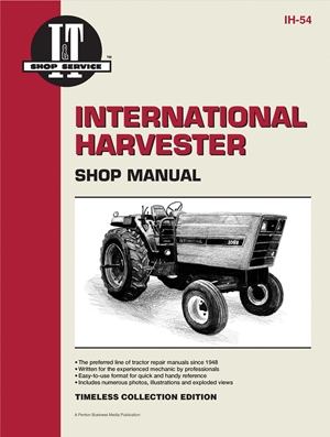 International Harvester Shop Manual Series 3088 3288 3488 Hydro +