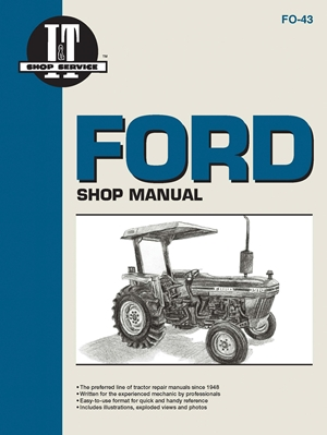 Ford Shop Manual Models 2810, 2910, 3910: Manual F0-43 (I & T Shop Service)
