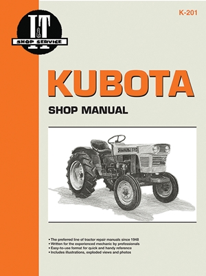 Kubota Shop Manual