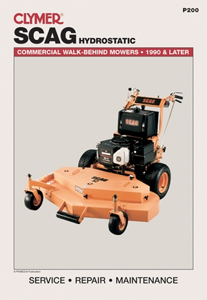 Scag Hydrostatic: Commercial Walk-Behind Mowers, 1990 & Later (Lawn Mower)