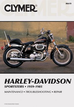 Clymer Harley-Davidson Sportsters 1959-1985