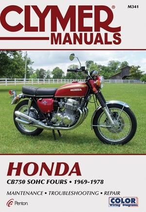 Clymer Honda CB750 SOHC Fours, 1969-1978