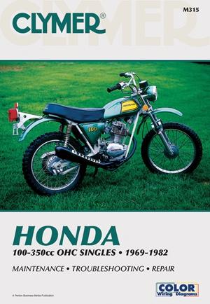 Honda OHC Sngls 100-350cc 69-82
